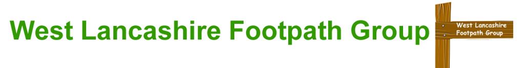 West Lancashire Footpath Group Logo